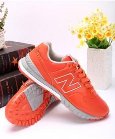 New Balance 574 zapatillas de deporte de color rojo anaranjado RevLite
