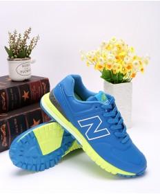 New Balance 574 RevLite formadores azul fluo zapatos