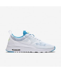 Nike Air Max Thea EM zapatillas deportivas blancas/azul Lagoon/Fantasma Verde/blanco