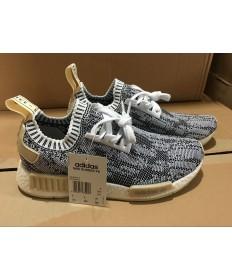 Adidas NMD zapatos de profundidad de color gris para las mujeres