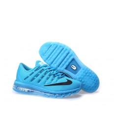 Nike Air Max 2016 cielo azul profundo/negro hombre Zapatos de la zapatillas