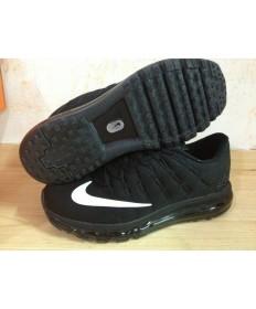 Nike Air Max 2016 zapatillas Negro/blancas hombre
