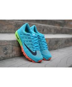 Nike Air Max 2016 cielo azul claro/zapatos Negro/naranja hombre