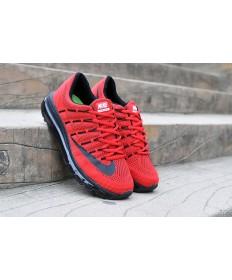 Nike Air Max 2016 Rojo/negro hombre Zapatos de la zapatillas
