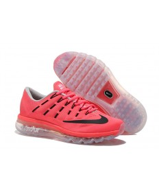Nike Air Max 2016 Luz Coral/formadores negro/gris