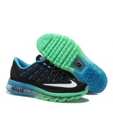 Nike Air Max 2016 zapatillas Negro/Celeste/Blanco/Turquesa zapatos para hombre