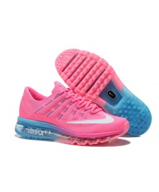 Nike Air Max 2016 zapatos de color azul rosa/blanco/Luz
