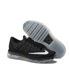 Nike Air Max 2016 Negro/Blanco zapatillas de deporte para hombre