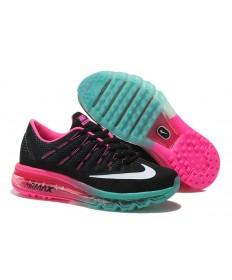 Nike Air Max 2016 Negro/Blanco/Fucsia/zapatos verdes