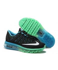 Nike Air Max 2016 de cielo azul/blanco/negro/formadores Cyan zapatillas de deporte