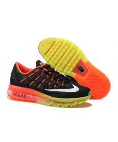 Nike Air Max 2016 naranja/negro/blanco/amarillo zapatillas de deporte
