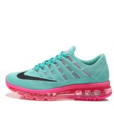 Nike Air Max 2016 zapatos Turquesa/Negro/Rosa