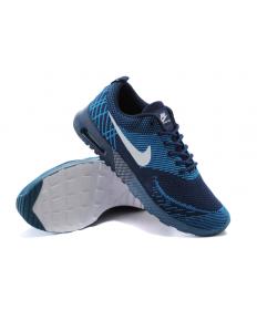 Nike Air Max zapatillas de deporte los Thea pizarra oscuro cielo azul/profunda hombrete azul/blanco para hombre