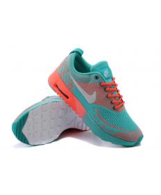 Nike Air Max zapatos oscuros Thea Cian/Naranja/Gris para mujer