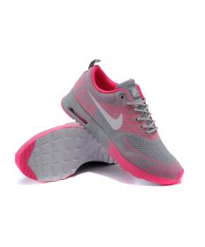 Nike Air Max Thea Gris/caliente pink mujer las zapatillas de deporte