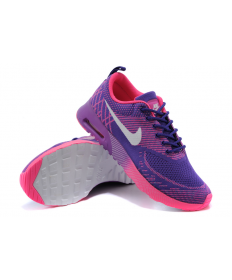 Nike Air Max Thea púrpura/color de rosa caliente/blancas mujer trainers