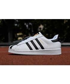 Adidas 80 zapatillas de deporte de la superestrella formadores de oro negro blanco