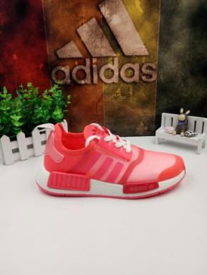 blanco rosa roja Adidas formadores NMD
