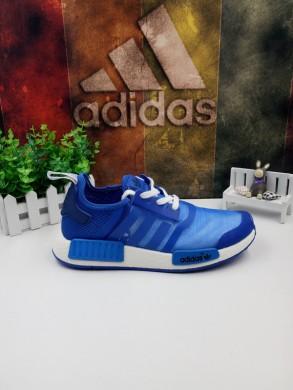 Adidas zapatos NMD formadores azul azul-real