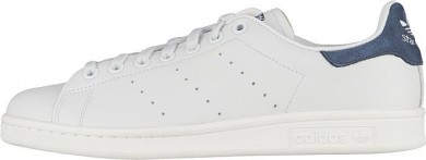 Adidas Stan Smith formadores de color blanco/color índigo zapatillas de deporte