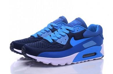 Nike Air Max 90 zapatos azul cian-real