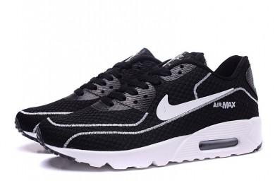 Nike Air Max 90 zapatos de las luciérnagas negro-blanco