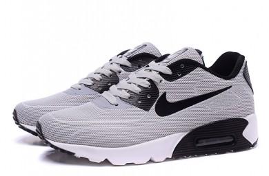 Nike Air Max 90 zapatillas de deporte de las luciérnagas luz gris-negro