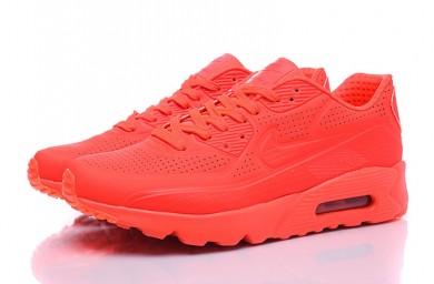 Nike Air Max 90 ULTRA MOIRE formadores zapatos rojos