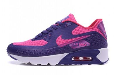 Nike Air Max 90 HYP PRM Día de la Independencia formadores de color púrpura-rosa zapatillas de deporte