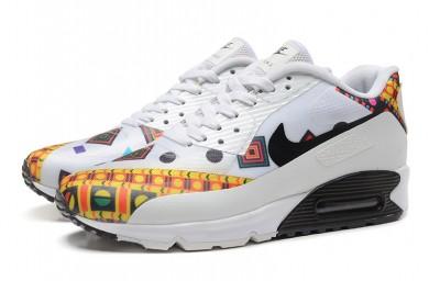 NIKE AIR MAX 90 HYP PRM formadores zapatos blanco-amarillo