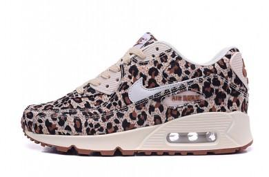 Nike Air Max 90 zapatillas de deporte del leopardo de las mujeres