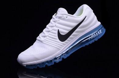 Nike Air Max 2017 zapatillas de deporte de color azul-blanco royal para hombre