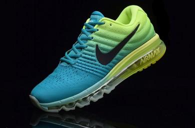 Nike Air Max 2017 zapatos de color azul-verde para hombre