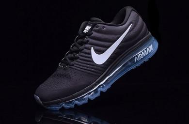Nike Air Max 2017 zapatillas de deporte negras para hombre