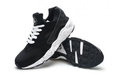 Nike Air Huarache ligeras zapatillas de deporte negras formadores