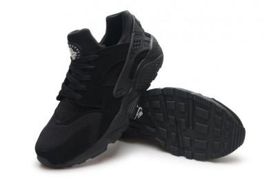 Nike Air Huarache triples formadores zapatos negros