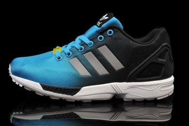 """Adidas ZX Flux """"reflexivas"""" zapatos formadores skyazul"""