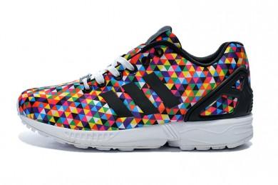 Adidas ZX FLUX zapatos prisma del arco iris
