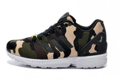 Adidas ZX FLUX formadores camo zapatos