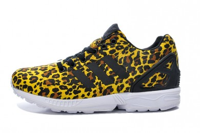 Adidas ZX FLUX formadores leopardo zapatillas de deporte