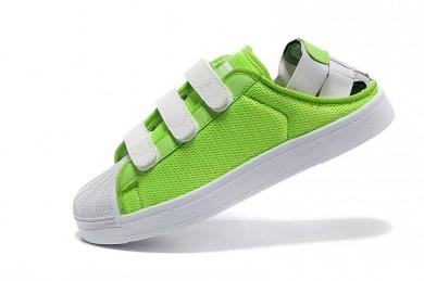 Adidas Superstar Summer Breathe hombre lawnverde/zapatillas blancas