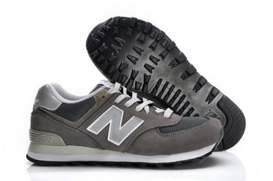 New Balance 574 trainers gris, blanco para los hombre de