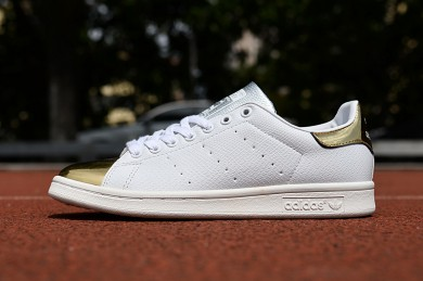 Adidas Stan Smith formadores de oro blanco