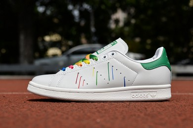 Adidas Stan Smith zapatos meteóricas amarillo verde blanco