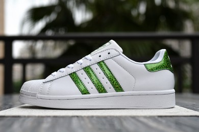Adidas superstar 80s instructores blanco Seaverde