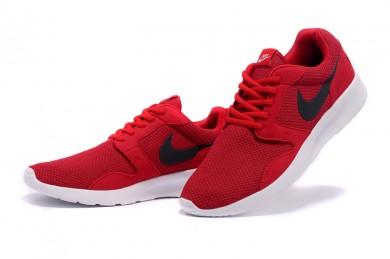 Nike Roshe Run para hombre rojo/negro formadores