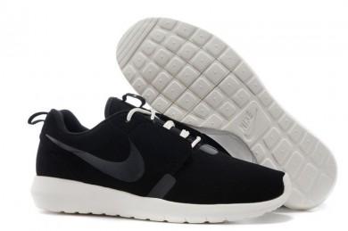 Nike Roshe Run NM BR 3M Suede para hombre Negro/Beige zapatos