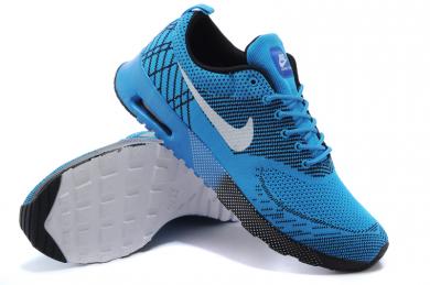 zapatos Nike Air Max Thea Celeste/Negro/blanco para hombre