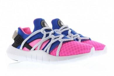 "Nike Air Huarache NM ""Rosa Dinámico/juego real"" no tripuladas zapatillas de deporte rosa azul/real"