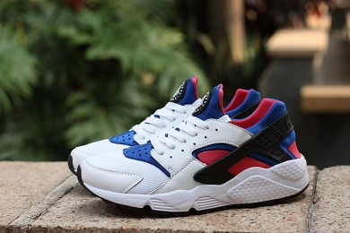 Nike Air Huarache luz blanca trainers del azul real